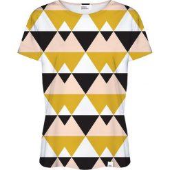 Colour Pleasure Koszulka damska CP-030 21 czarno-żółta r. XXXL/XXXXL. T-shirty damskie Colour Pleasure. Za 70.35 zł.