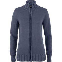 Sweter rozpinany bonprix jagodowy. Kardigany damskie marki bonprix. Za 74.99 zł.
