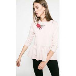 Answear - Bluza Blossom Mood. Szare bluzy damskie ANSWEAR, z bawełny. W wyprzedaży za 49.90 zł.