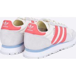 Adidas Originals - Buty Haven. Szare obuwie sportowe damskie adidas Originals, z materiału. W wyprzedaży za 319.90 zł.