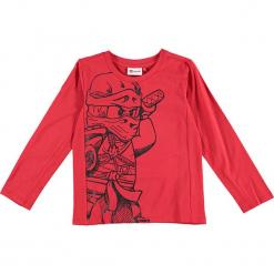 """Koszulka """"Thomas 720"""" w kolorze czerwonym. Zielone t-shirty dla chłopców marki Lego Wear Fashion, z bawełny, z długim rękawem. W wyprzedaży za 49.95 zł."""