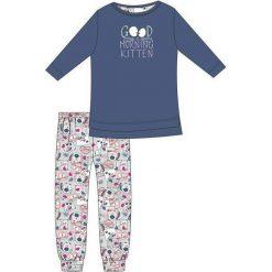 Piżama Young Girl 103/89 Good Morning niebieska r. 164. Niebieskie bielizna dla dziewczynek Cornette. Za 61.67 zł.