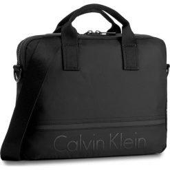 Torba na laptopa CALVIN KLEIN - Matthew Laptop Bag K50K502852 001. Czarne torby na laptopa damskie Calvin Klein, z materiału. W wyprzedaży za 369.00 zł.