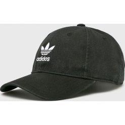Adidas Originals - Czapka. Czarne czapki i kapelusze damskie adidas Originals, z bawełny. Za 89.90 zł.