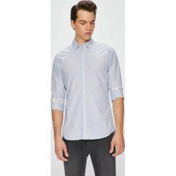 Selected - Koszula. Szare koszule męskie Selected, z bawełny, z długim rękawem. W wyprzedaży za 139.90 zł.