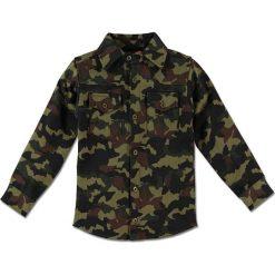"""Koszula """"Jasper"""" w kolorze khaki. Koszule dla chłopców marki bonprix. W wyprzedaży za 85.95 zł."""