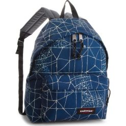 Plecak EASTPAK - Padded Pak'r EK620 Cracked Blue 66T. Niebieskie plecaki damskie Eastpak, z materiału, sportowe. W wyprzedaży za 159.00 zł.