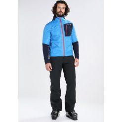 Ziener NIBORI Kurtka narciarska persian blue. Kurtki snowboardowe męskie Ziener, z materiału. W wyprzedaży za 593.10 zł.