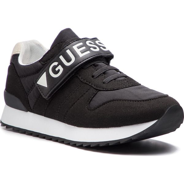 1067803d4 Sneakersy GUESS - Rudy FI5RUD ESU12 BLACK - Półbuty chłopięce Guess ...