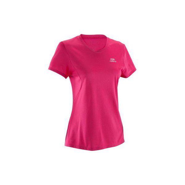 3be97f9f6 Koszulka do biegania krótki rękaw damska EKIDEN - Czerwone t-shirty ...