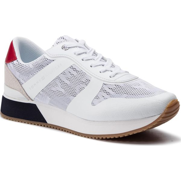 905a46ae873d3 Sneakersy TOMMY HILFIGER - Tommy Jacquard City Sneaker FW0FW04026 ...