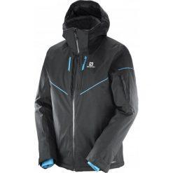 Salomon Kurtka Męska Stormrace Jacket M Black M. Czarne kurtki snowboardowe męskie Salomon, na zimę. W wyprzedaży za 899.00 zł.