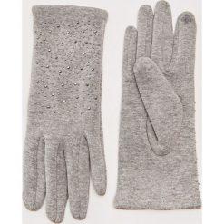 Rękawiczki z ozdobnymi nitami - Jasny szar. Rękawiczki damskie marki B'TWIN. W wyprzedaży za 12.99 zł.