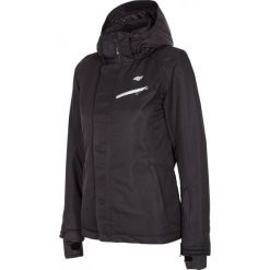 Kurtka narciarska damska KUDN253Z - czarny. Czarne kurtki snowboardowe damskie 4f, na jesień, z materiału. W wyprzedaży za 239.99 zł.