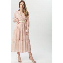 Sukienka maxi paski Sukienki damskie Kolekcja wiosna