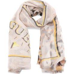 Szal GUESS - AWGL17 VIS03 BRO. Szare szaliki i chusty damskie marki Giacomo Conti, na zimę, z tkaniny. W wyprzedaży za 169.00 zł.