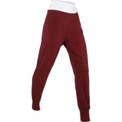 Spodnie alladynki, długie, Level 1 bonprix czerwony kasztanowy. Spodnie sportowe damskie marki WED'ZE. Za 49.99 zł.