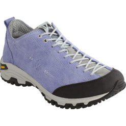 Skórzane buty trekkingowe w kolorze fioletowym. Trekkingi damskie marki ROCKRIDER. W wyprzedaży za 318.95 zł.
