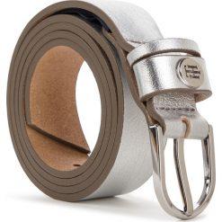 Pasek Damski TOMMY HILFIGER - Classic Belt 2.5 AW0AW06159 055. Szare paski damskie Tommy Hilfiger, w paski, ze skóry. Za 179.00 zł.
