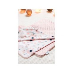 Kocyk Minky Pink Meadow. Różowe kocyki dla dzieci Ushaki. Za 129.00 zł.