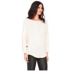 La Belle Parisienne Sweter Damski Caroline M Kremowy. Białe swetry damskie La Belle Parisienne. Za 129.00 zł.
