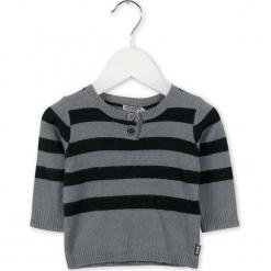 Sweter w kolorze szaro-czarnym. Swetry dla chłopców marki Reserved. W wyprzedaży za 82.95 zł.