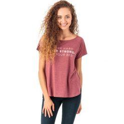 4f Koszulka damska H4Z18-TSD006 bordowa r. S. T-shirty damskie 4f. Za 45.99 zł.