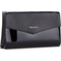 Torebka BELLUCCI - R-391 Czarna Groszek/Lak. Czarne torebki do ręki damskie Bellucci, w grochy, z lakierowanej skóry. Za 269.00 zł.