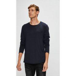 Tom Tailor Denim - Longsleeve. Szare bluzki z długim rękawem męskie Tom Tailor Denim, z denimu, polo. W wyprzedaży za 79.90 zł.