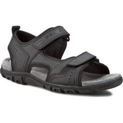 Sandały GEOX - U S. Strada A U4224A 000BC C9999 Czarny. Sandały męskie marki Wojas. W wyprzedaży za 199.00 zł.