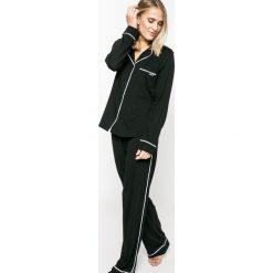 Dkny - Piżama. Czarne piżamy damskie DKNY, z bawełny. Za 399.90 zł.