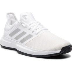 Buty adidas - GameCourt M CG6333 Ftwwht/Msilve/Cblack. Buty sportowe męskie marki B'TWIN. Za 249.00 zł.