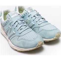 New Balance - Buty. Szare obuwie sportowe damskie New Balance, z gumy. W wyprzedaży za 239.90 zł.
