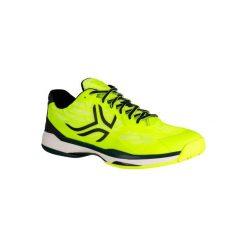 Buty tenisowe TS990 męskie. Żółte buty sportowe męskie ARTENGO, z gumy. Za 199.99 zł.