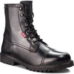 Kozaki LEVI'S - 228741-700-59 Regular Black. Czarne kozaki męskie Levi's, z materiału. W wyprzedaży za 339.00 zł.