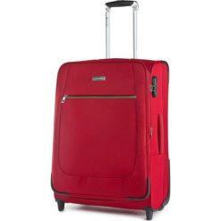 Średnia Materiałowa Walizka PUCCINI - EM 50405 B Red 3. Czerwone walizki damskie Puccini, z materiału. Za 259.00 zł.