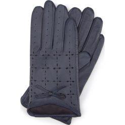 Rękawiczki damskie 45-6-519-GC. Szare rękawiczki damskie Wittchen. Za 159.00 zł.