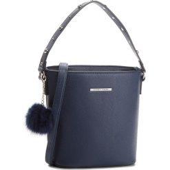Torebka JENNY FAIRY - RC15408 Navy. Niebieskie torebki do ręki damskie Jenny Fairy, ze skóry ekologicznej. Za 69.99 zł.