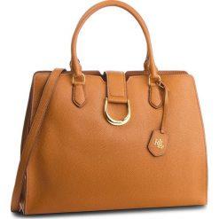 Torebka LAUREN RALPH LAUREN - Kenton 431724037002 Brown. Brązowe torebki do ręki damskie Lauren Ralph Lauren, ze skóry. Za 1,299.00 zł.