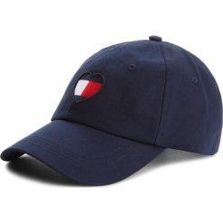 Czapka z daszkiem TOMMY JEANS - Tjw Flag Heart Cap AW0AW05636 413. Niebieskie czapki i kapelusze damskie Tommy Jeans. Za 159.00 zł.