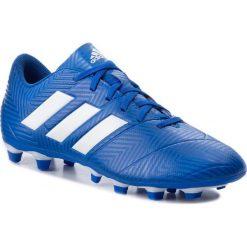 Buty adidas - Nemeziz 18.4 Fxg DB2115 Fooblu/Ftwwht/Fooblu. Niebieskie buty sportowe męskie Adidas, ze skóry ekologicznej. W wyprzedaży za 179.00 zł.