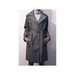 Jesienny płaszcz MY DREAM JEANS. Szare płaszcze damskie True color by ann, na jesień, z jeansu, klasyczne. Za 699.00 zł.