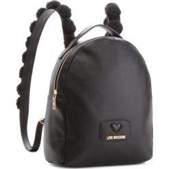 Plecak LOVE MOSCHINO - JC4287PP06KL0000 Nero. Czarne plecaki damskie Love Moschino, ze skóry ekologicznej. Za 959.00 zł.