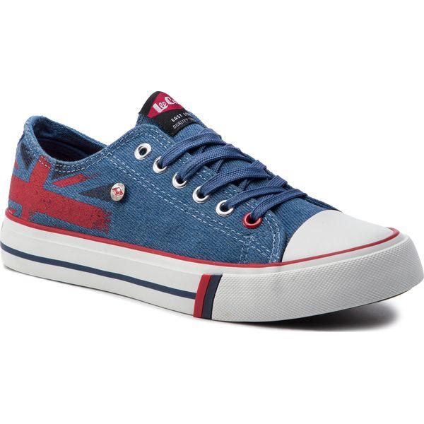 76c673366c2a9 Trampki LEE COOPER - Low Cut 1 LCWL-19-530-032 Jeans Blue - Półbuty ...