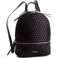 Plecak POLLINI - SC4522PP06SD100A Origami Nero/Pu Nero. Czarne plecaki damskie Pollini, z materiału, eleganckie. Za 739.00 zł.