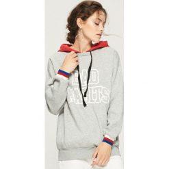 Bluza z kontrastowym kapturem - Jasny szar. Szare bluzy damskie marki Sinsay, z motywem z bajki. W wyprzedaży za 49.99 zł.
