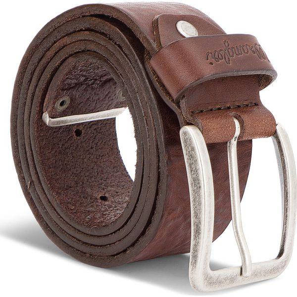 6c4c7345099bc Pasek Męski WRANGLER - Metal Tip Belt W0B60U185 85 Brown - Paski ...