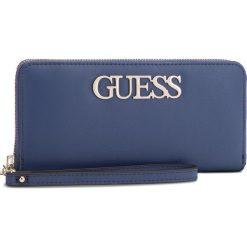 Duży Portfel Damski GUESS - SWVG68 76460  BLUE. Niebieskie portfele damskie Guess, ze skóry ekologicznej. Za 279.00 zł.