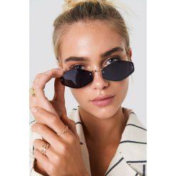 NA-KD Accessories Sześciokątne okulary przeciwsłoneczne - Black. Czarne okulary przeciwsłoneczne damskie NA-KD Accessories. Za 52.95 zł.
