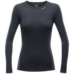 Devold Koszulka Damska Hiking Woman Shirt Black S. Czarne koszulki sportowe damskie Devold, z wełny, z długim rękawem. W wyprzedaży za 219.00 zł.